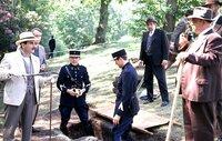 David Suchet (Hercules Poirot), Hugh Fraser (Hastings).