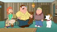 (v.l.n.r.) Lois Griffin; Stewie Griffin; Peter Griffin; Chris Griffin; Brian Griffin