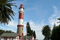 """NDR Fernsehen MARETV, """"Am Kap der Guten Hoffnung - Südafrika zwischen den Ozeanen"""", am Donnerstag (07.11.13) um 21:00 Uhr. Der Leuchtturm von Swakopmund im Nordwesten Namibias."""