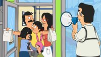 L-R: Tina, Bob, Gene, Louise, Linda, Sergeant Bosco