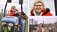 """Die queere Weinkönigin Simona Maier ist eine der Frauen, die Friederike Kempter für ihre neue Doku-Reihe """"Friederike klopft an"""" getroffen hat."""