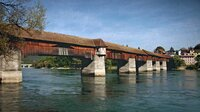 Die Alte Rheinbrücke in Bad Säckingen erzählt so manche traurige und lustige Geschichte.