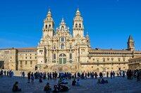 Die Kathedrale von Santiago de Compostela ist das Wahrzeichen von Galicien ? und das Ziel von Millionen von Pilgern.