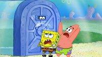 L-R: SpongeBob, Patrick