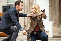 "-- ""Drill"" Episode 102 -- Pictured: (l-r) Jon Seda as Antonio Dawson, Joelle Carter as Laura Nagel -- (Photo by: Parrish Lewis/NBC)"