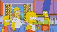 (v.l.n.r.) Bart; Homer; Lisa; Marge