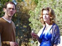 Adam Godley (Elliott Schwartz), Anna Gunn (Skyler White).