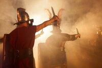 Angriff römischer Soldaten