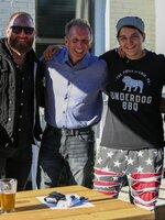 Underdog BBQ 5 (RJ Messenger, Glenn Stearns, , Ashley Messenger)