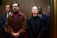 Sebastian Stan (Jeff Gillooly), Margot Robbie (Tonya Harding).