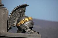Antiker römischer Helm