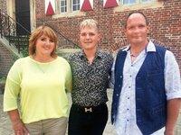 V.l.: Mama Susanne, Nico und Papa Jörg