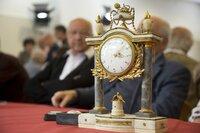 Vorbesichtigung beim Themengebiet Uhren in Ansbach.