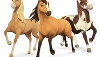 Ein wunderbares Team: Chica Linda, Spirit und Boomerang (v.l.) erleben gemeinsam mit ihren Reiterinnen spannende Abenteuer. Dabei wächst nicht nur der Mut, sondern auch die Pferdefreundschaft.