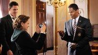 Nachdem sich John Cale (Channing Tatum, l.) vergeblich auf eine Stelle beim Secret-Service beworben hat, macht er mit seiner Tochter Emily (Joey King) noch eine Tour durch das Weiße Haus. Dabei treffen sie auf President James W. Sawyer (Jamie Foxx), der sich erstaunlich redselig gibt.
