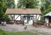 Der Holgersson Hof in Schonen, Heimat von Nils und seinen Eltern. (Foto für alle 4 Folgen)