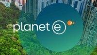 "Logo: ""planet e"""