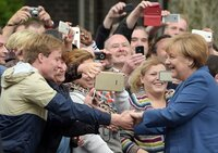 Eine Kanzlerin zum Anfassen: 16 Jahre lang hat Angela Merkel das Land regiert. Vom Sommermärchen bis zur Corona-Krise – viele Ereignisse haben diese Zeit geprägt.