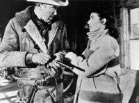 Der Sicherheitsbeauftragte Grant McLaine soll einen Lohngeldtransport bewachen. Der befürchtete Überfall gelingt dennoch, Grant wird niedergeschlagen, die Räuber entkommen. Als Grant ihre Verfolgung aufnimmt, merkt er bald, dass er auch seinen eigenen Bruder zum Gegner hat. - Die Uhr ist abgelaufen und Grant McLaine (James Stewart) greift wieder zur Waffe. Charlie (Dianne Foster) versucht ihn daran zu hindern.