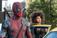 L-R: Wade Wilson / Deadpool / Voice of Juggernaut (Ryan Reynolds) and Domino (Zazie Beetz)