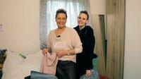 Nicht Aufgeben heißt es auch für Muriel (49) aus Ahlen. Die gebürtige Belgierin hat zu Beginn der Corona-Krise ihren Traumjob als Sterilisationsassistentin verloren. Seitdem sucht sie händeringend nach einer neuen Anstellung.. (Foto, re. Tochter Yvonne)