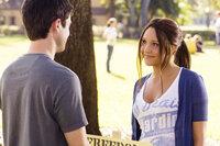 Als Sydney (Amanda Bynes, r.) der College-Queen Rachel den Kampf ansagt, findet sie schon bald einen starken Verbündeten: Tyler (Matthew Long, l.) ...