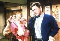 "Barbara Eden (Jeannie), Larry Hagman (Anthony ""Tony"" Nelson)."