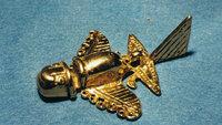 In antiken Kulturen finden sich immer wieder Modelle von futuristisch anmutenden Fluggeräten.