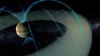 Das größte Magnetfeld aller Planeten im Sonnensystem besitzt der Jupiter.