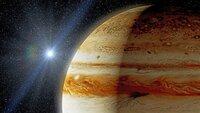 Auf der Oberfläche des Jupiters wüten seit Jahrhunderten tosende Zyklone.