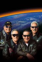 40 Jahre nach ihrem letzten Weltraumflug wagen sich die vier Astronauten Frank (Clint Eastwood, 2.v.l.), Hawk (Tommy Lee Jones, 2.v.r.), Jerry (Donald Sutherland, r.) und Tank (James Garner, l.) noch einmal in den Weltall. Ihre Aufgabe: Die vier Männer müssen einen russischen Satelliten reparieren.