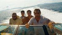 Eine unglaubliche Nacht liegt hinter Alan (Zach Galifianakis, l.), Teddy (Mason Lee, 2.v.l.), Stu (Ed Helms, 2.v.r.) und Phil (Bradley Cooper, r.) ...