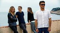 Devin (Gaia Weiss, li.), Garrett (Freddie Thorp, 2.v.li.), Stephanie (Ana de Armas) und Andrew (Scott Eastwood, re.)