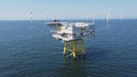 Die insgesamt 30 Windkraftanlagen der 3,6 Megawatt-Klasse können rund 120 000 Haushalte mit umweltfreundlichem Strom versorgen.