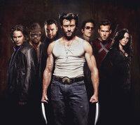 (v.l.n.r.) Gambit (Taylor Kitsch); John Wraith (Will.i.am); Sabretooth (Liev Schreiber); Wolverine (Hugh Jackman); Cyclops (Tim Pocock); Wade Wilson (Ryan Reynolds); Silverfox (Lynn Collins)