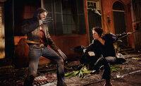 Wolverine (Hugh Jackman, l.); Gambit (Taylor Kitsch, r.)