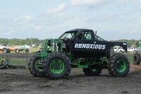 The Minnesota Mudders' Obnoxious Mega Truck looks to strut its stuff on the track.