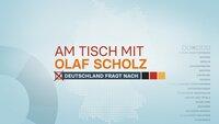"""""""Am Tisch mit Olaf Scholz: Zuschauer fragen - Die Kanzlerkandidatin antwortet""""-Logo  +++"""