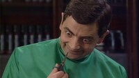 Mr. Bean spielt den Frisör..