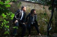 Robert Langdon (Tom Hanks), Dr. Sienna Brooks (Felicity Jones).