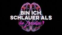 """Logo zur Sendung """"Bin ich schlauer als die Zarrellas?"""""""
