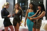 Hustlers Lili Reinhart als Annabelle, Jennifer Lopez als Ramona, Keke Palmer als Mercedes, Constance Wu als Destiny SRF/Impuls Pictures