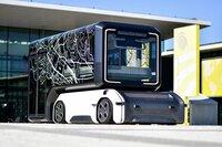 On-demand-Shuttle, Hightech-Rufbus, flexibles Verteilzentrum für Güter und Pakete – das futuristische Fahrzeugkonzept U-Shift soll in Zukunft vielfältig in unseren Städten zum Einsatz kommen.