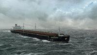 Mit einer Länge von 294 Metern ist die MV Derbyshire größer und zwei Mal schwerer als die Titanic.