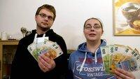 Christopher und Jennifer leben von 804 Euro Hartz IV im Monat