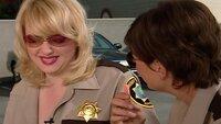 L-R: Deputy Clementine Johnson (Wendi McLendon-Covey), Deputy Trudy Wiegel (Kerri Kenney)