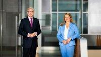 Wahl 2021: Theo Koll und Tina Hassel moderieren die Schlussrunde der Spitzenkandidatinnen und -kandidaten aller im Bundestag vertretenen Parteien.