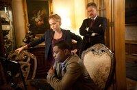 Esther Drummond (Alexa Havins), Agent Rex Matheson (Mekhi Phifer) & CIA Agent Allen Shapiro (John de Lancie)