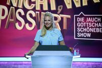 Barbara Schöneberger musste die Show moderieren und völlig unvorbereitet improvisieren.