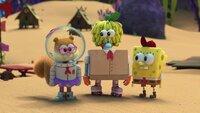 L-R: Sandy, Gary, SpongeBob